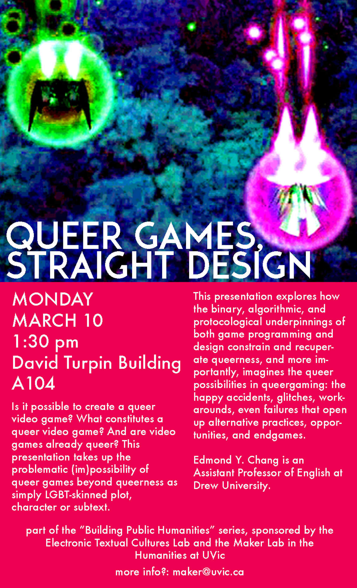 "Ed Chang, ""Queer Games, Straight Design"""