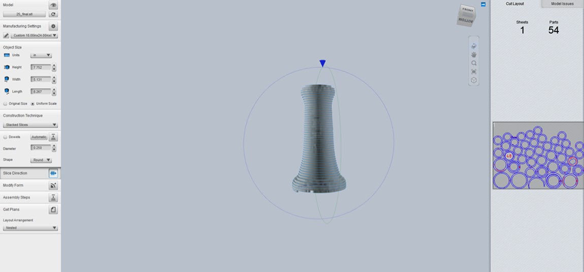 3D Scan of Telephone Receiver