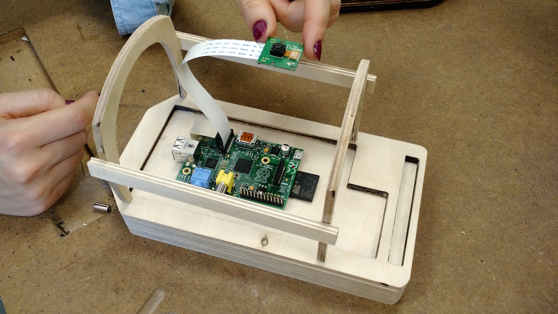Optophone Prototype with an RPi