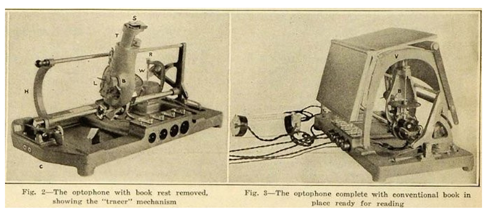 Image of a tracer from a 1920 issue of <em>Scientific American</em>