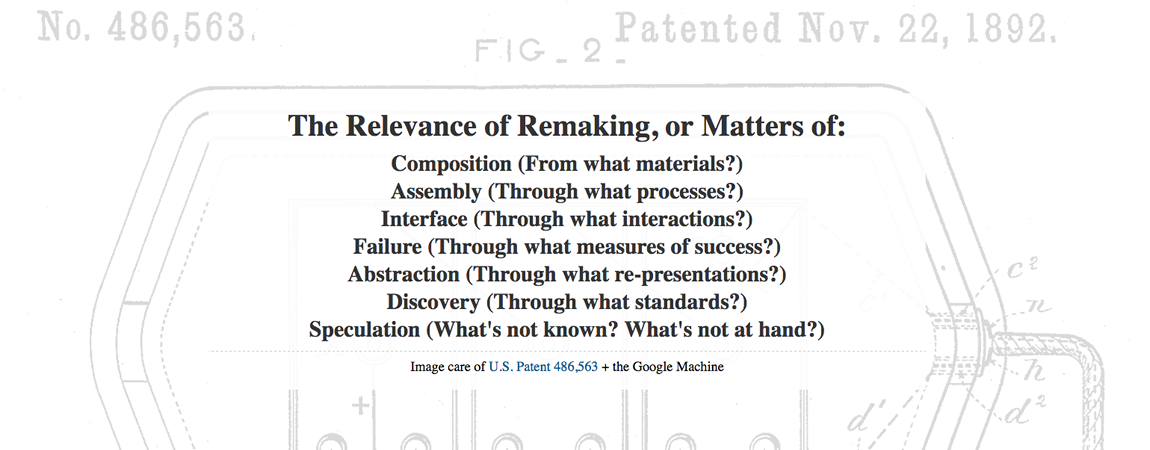 Slide from Jentery's talk at the Scholars' Lab (University of Virginia)